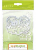 Tonic Studios - Rococo Pampered Pets - Best Buddies Die Set- 1185e